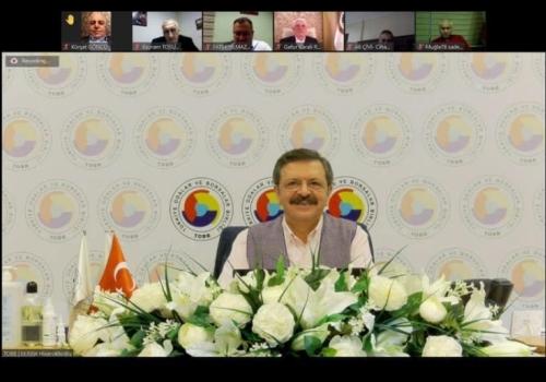 365 Oda/Borsamızın Genel Sekreterinin katılımlarıyla gerçekleşen istişare toplantısına Genel Sekreterimiz Ali Öz katılım sağladı.