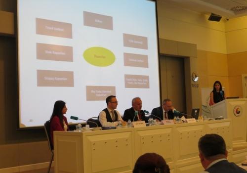 """Ödemiş Ticaret Borsası """"TOBB Yeni Borsa Yazılımı Çalıştayı"""" na katılım sağladı:"""