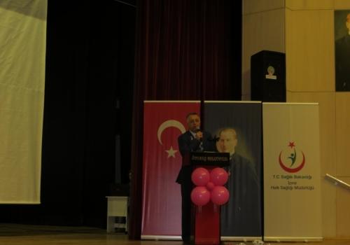 Ödemiş Ticaret Borsası Kanserle Mücadele Konferansına Katılım Sağladı.