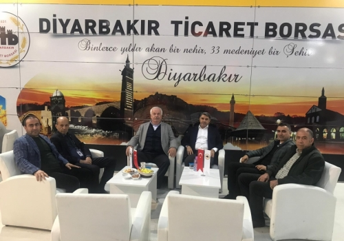Başkan AKA; Diyarbakır'da düzenlenen Tarım Fuarına katılım sağladı: