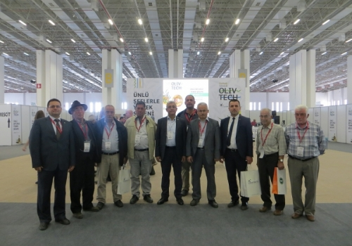 Ödemiş Ticaret Borsası İzmir Organik Ürünler - Zeytin, Zeytinyağı ve Teknolojileri Fuarında: