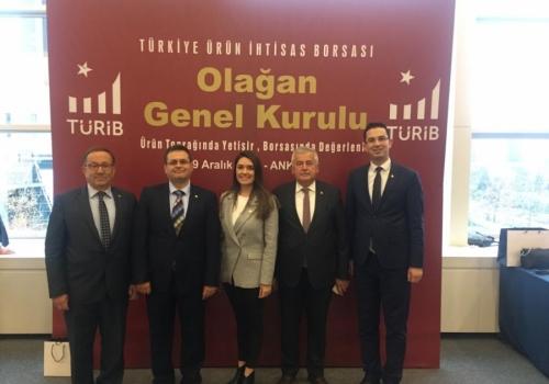Ödemiş Ticaret Borsası Türkiye Ürün İhtisas Borsası'nda Aracılık Sistemi İstişare Toplantısında
