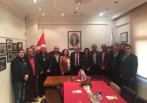 Cumhuriyet Halk Partisi Teşkilatı Borsamızı ziyaret etti: