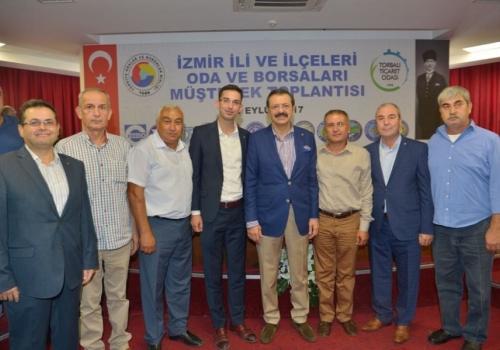 Ödemiş Ticaret Borsası, Torbalı Ticaret Odası Açılış Törenine katılım sağladı: